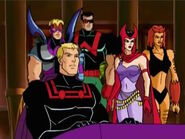 Avengers Watch President Attack