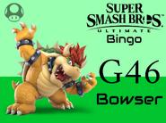 Bowser SSBU Bingo