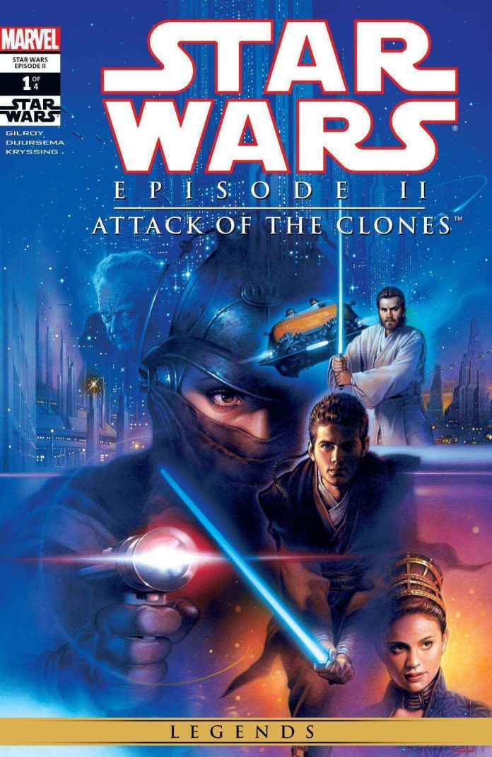 Star Wars Infinities: Attack of the Clones