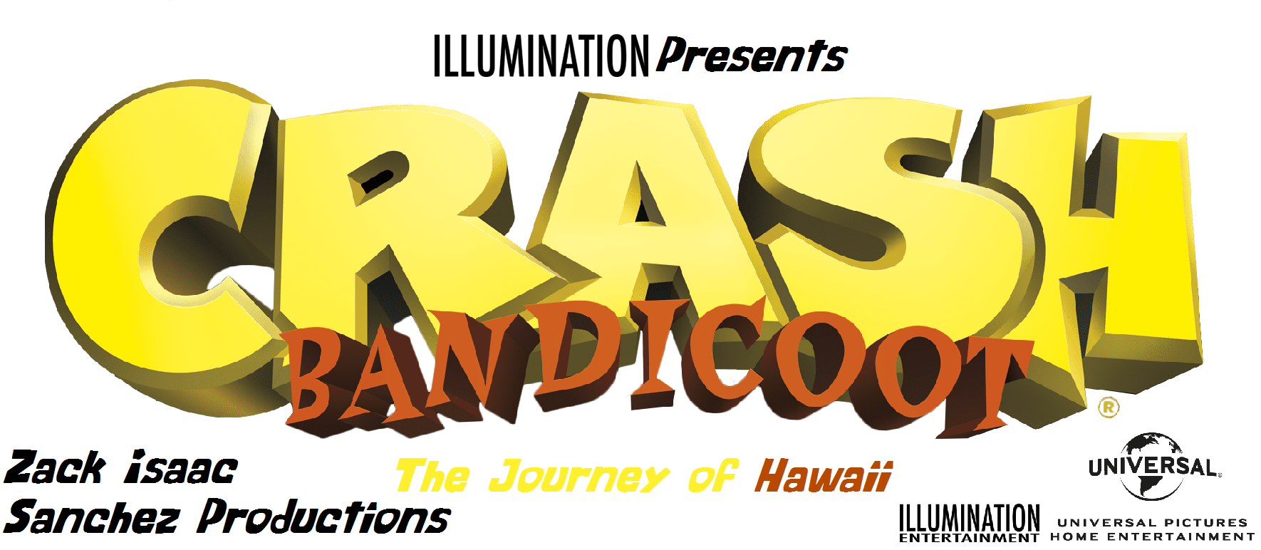 Crash Bandicoot: The Journey of Hawaii