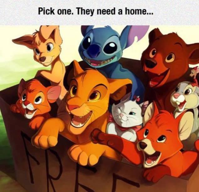 Disney's Animal Babies Gang