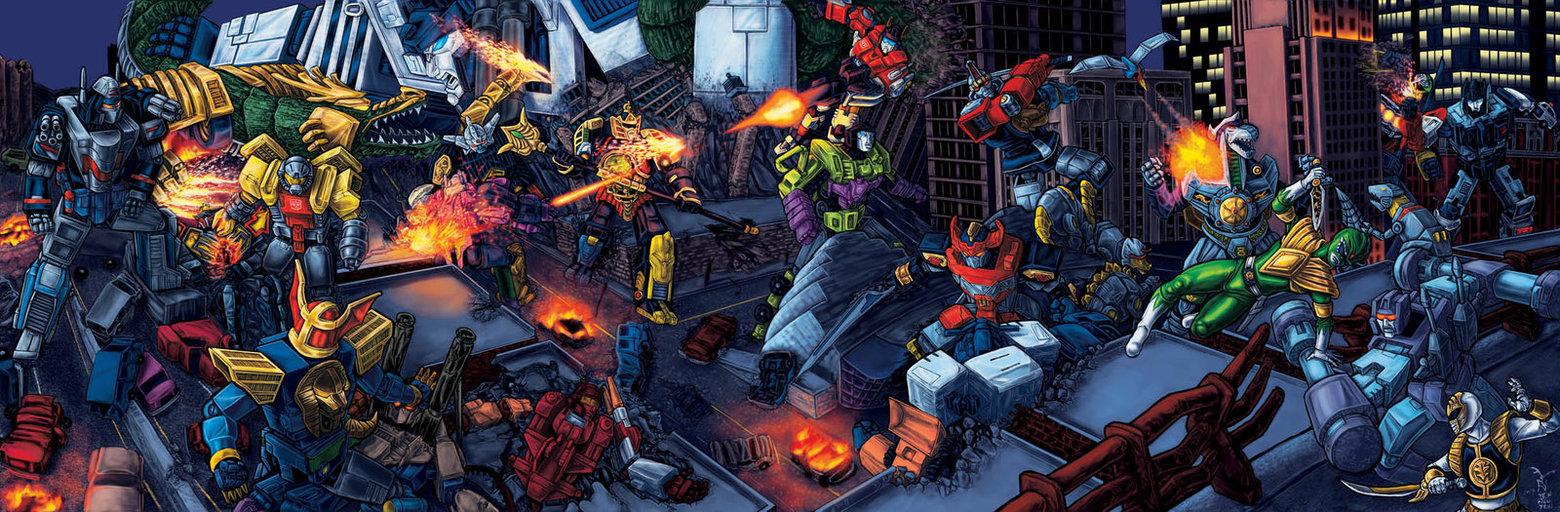 Power Rangers/Transformers: Grid Energon