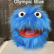 Blue Fuzzball