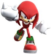 Sonic rivals Knuckles
