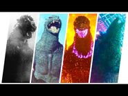GODZILLA- Evolution in Movies and Cartoons (1954-2021) MonsterVerse