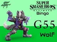 Wolf SSBU Bingo