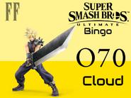 Cloud SSBU Bingo
