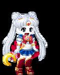 Cloudy J as Sailor Moon