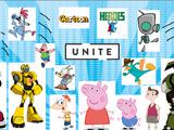 Cartoon Heroes Unite!