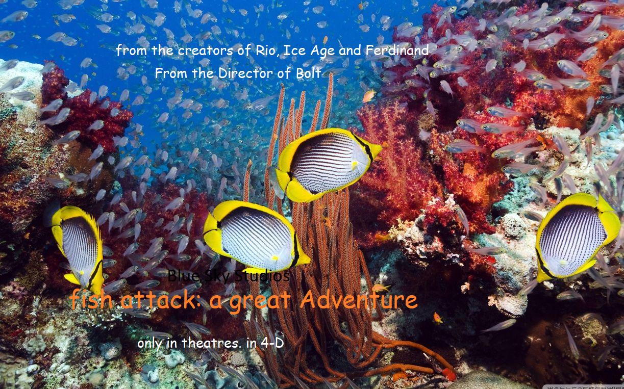 Fish Attack: The Nate's Rescue