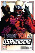 U.S.Avengers Vol 1 1 Stegman Variant