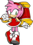 Who dat amy rose by ketrindarkdragon-d9g2ts6