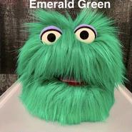 Green Fuzzball