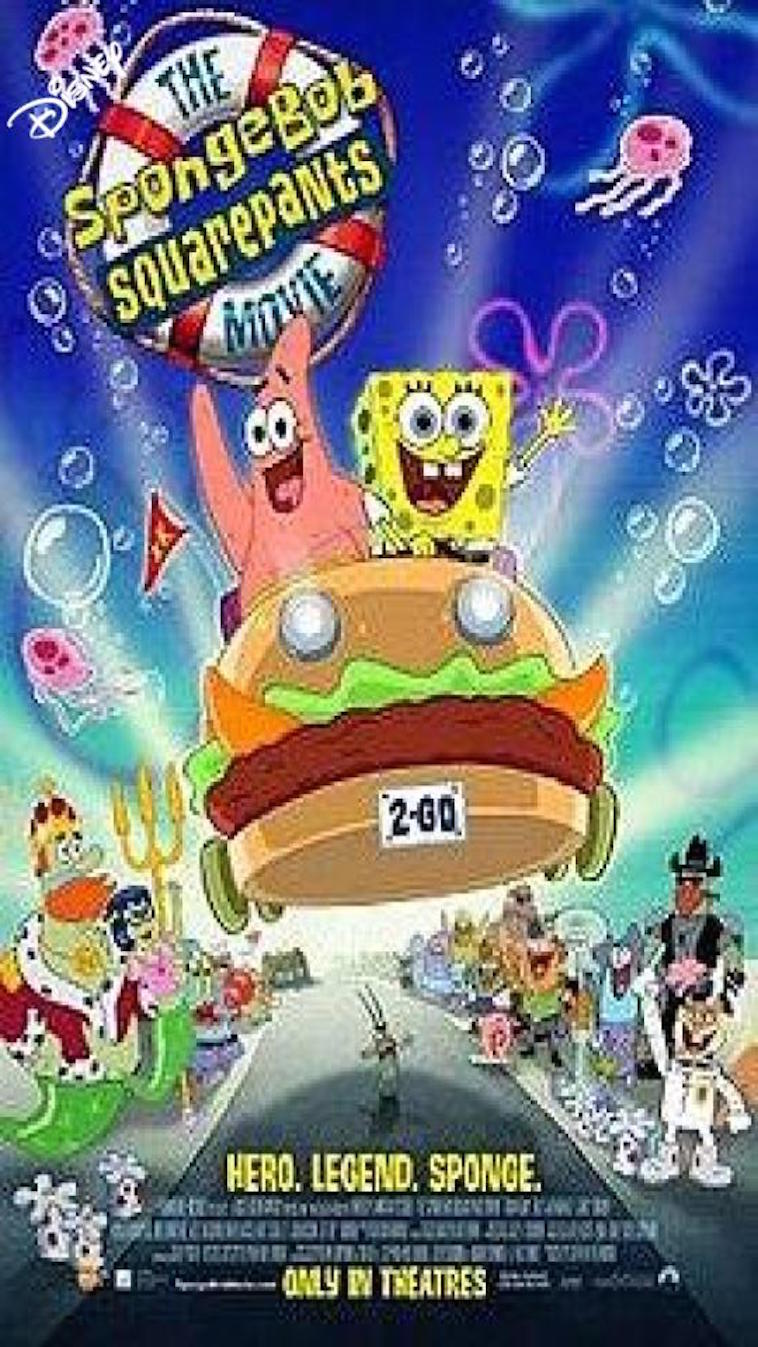 If The SpongeBob SquarePants Movie was produced by Walt Disney Pictures