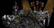 Godzilla and Transformers Invaders from Cybertron