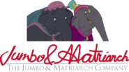 The jumbo and matriarch company logo by lamonttroop dckecdw-fullview