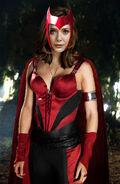 Elizabeth olsen as scarlet witch by cc scorsese-d6j9pot