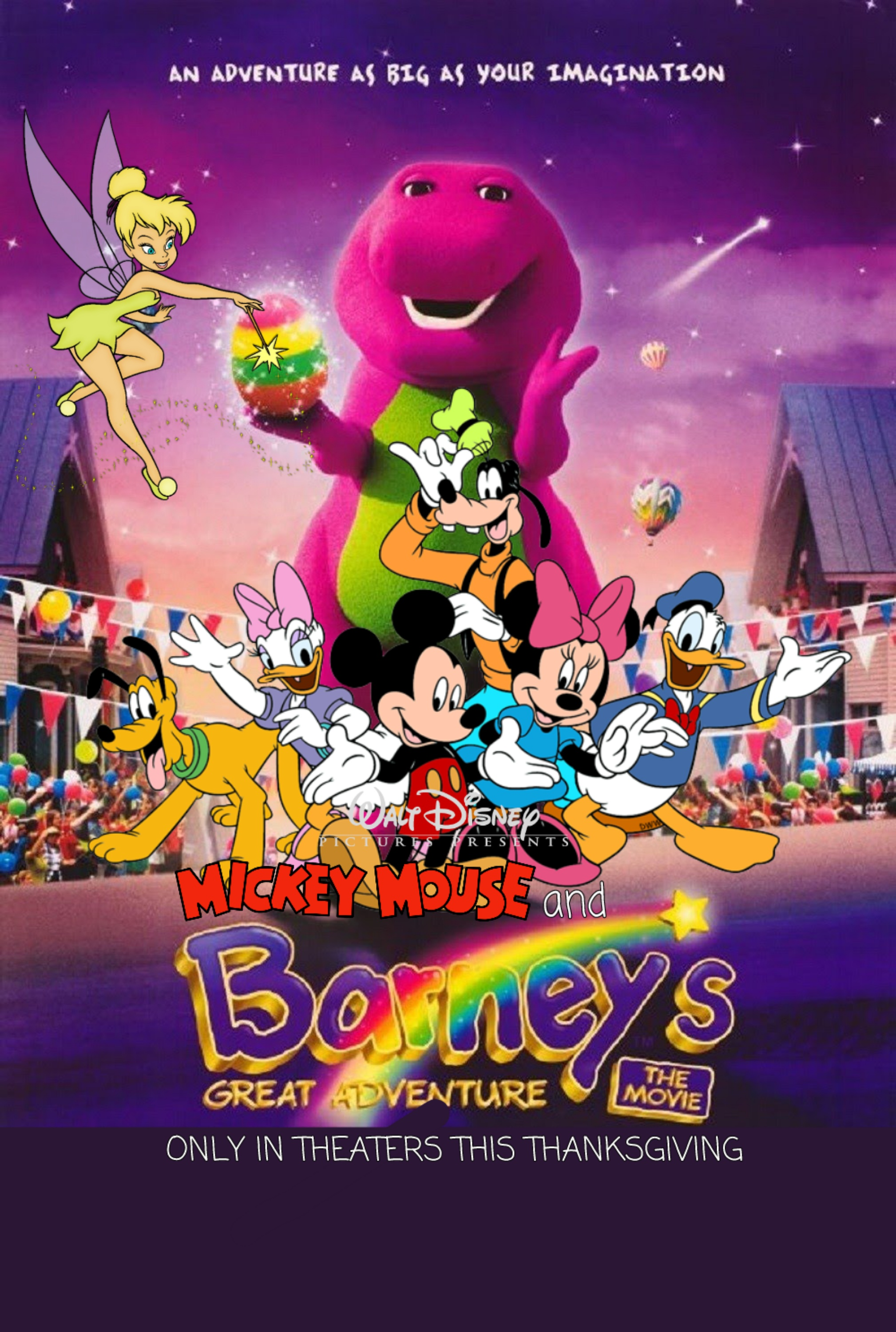 Mickey Mouse and Barney's Great Adventure: The Movie