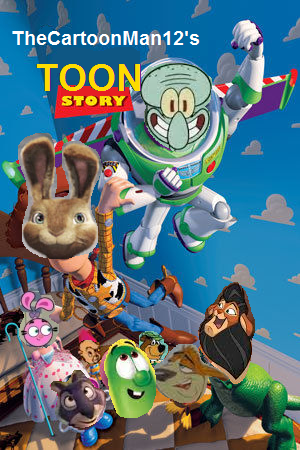Toon story thecartoonman12 style poster.png