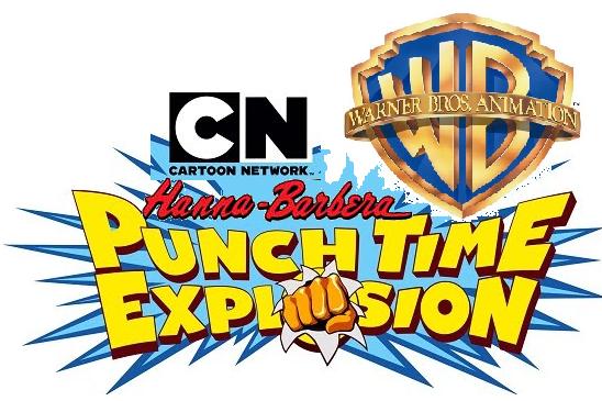 Cartoon Network Hanna-Barbera & Warner Bros Animation Punch Time Explosion