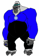 Solovar of the Blue Lantern Corps