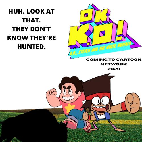 OK K.O.! K.O., Steven, and the White Buffalo
