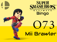Mii Brawler SSBU Bingo