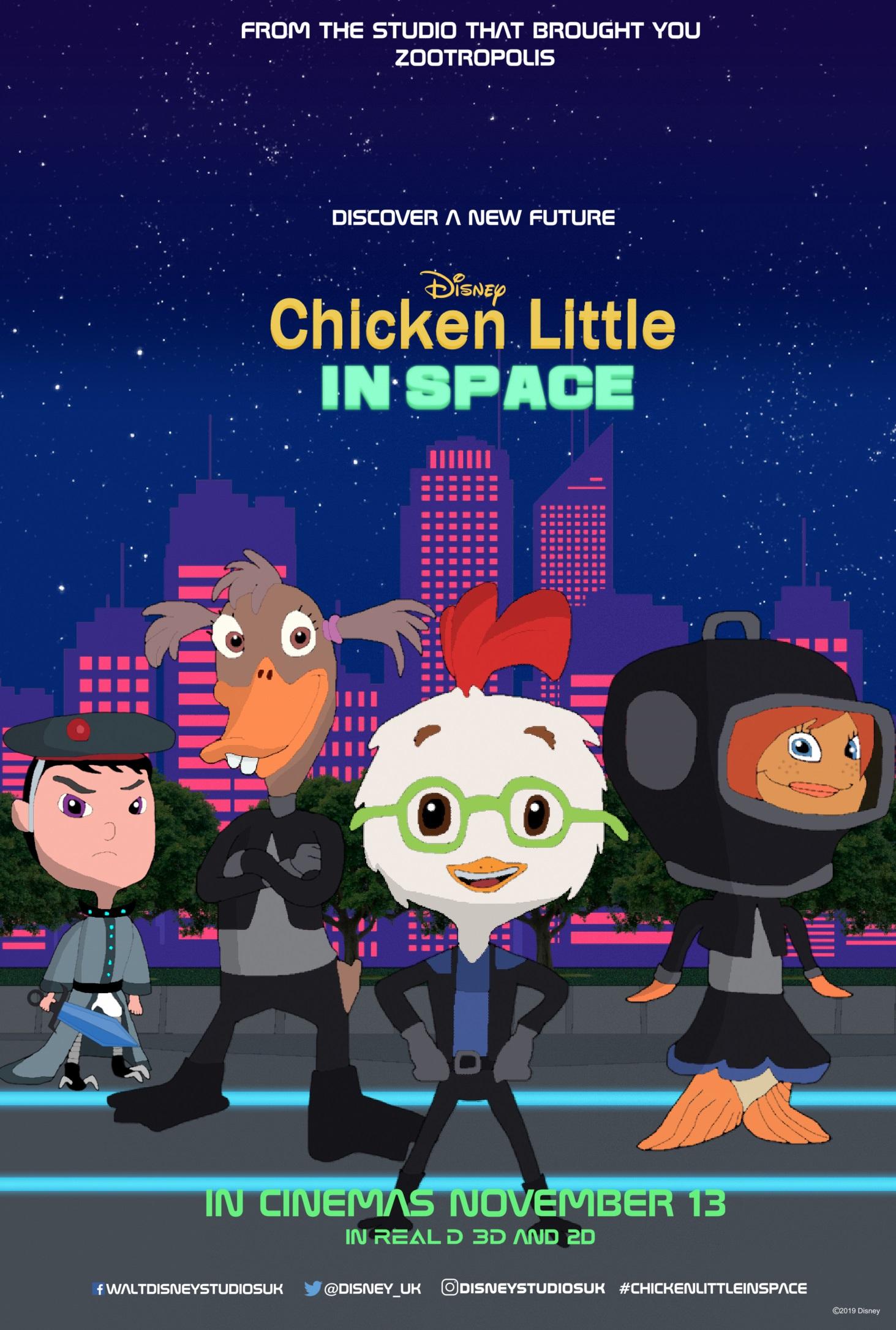 Chicken Little: In Space
