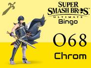 Chrom SSBU Bingo