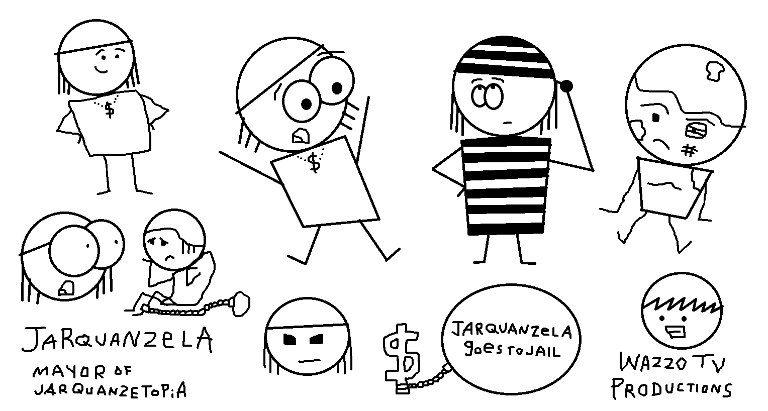 Jarquanzela Goes to Jail