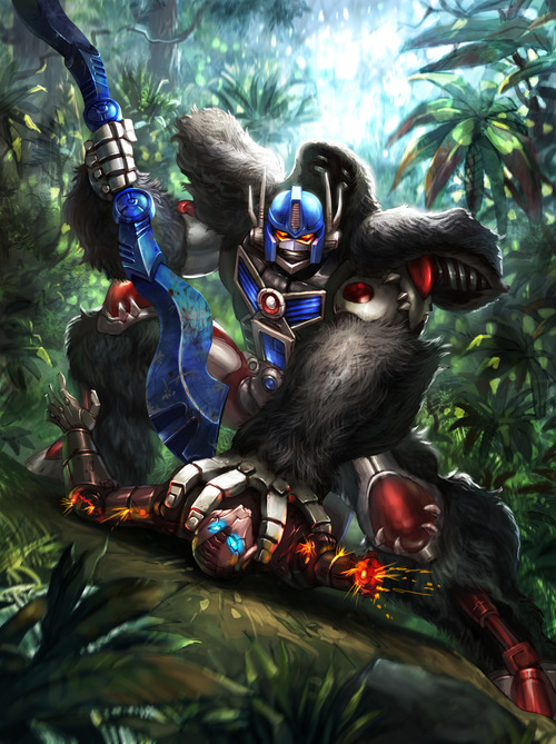 List of Beast Wars: Transformers: Unlimited Characters