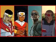 Falcon Evolution in Movies & Cartoons (2018)
