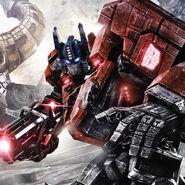 Optimus prime ( Character of transformers la caída de cybertron )