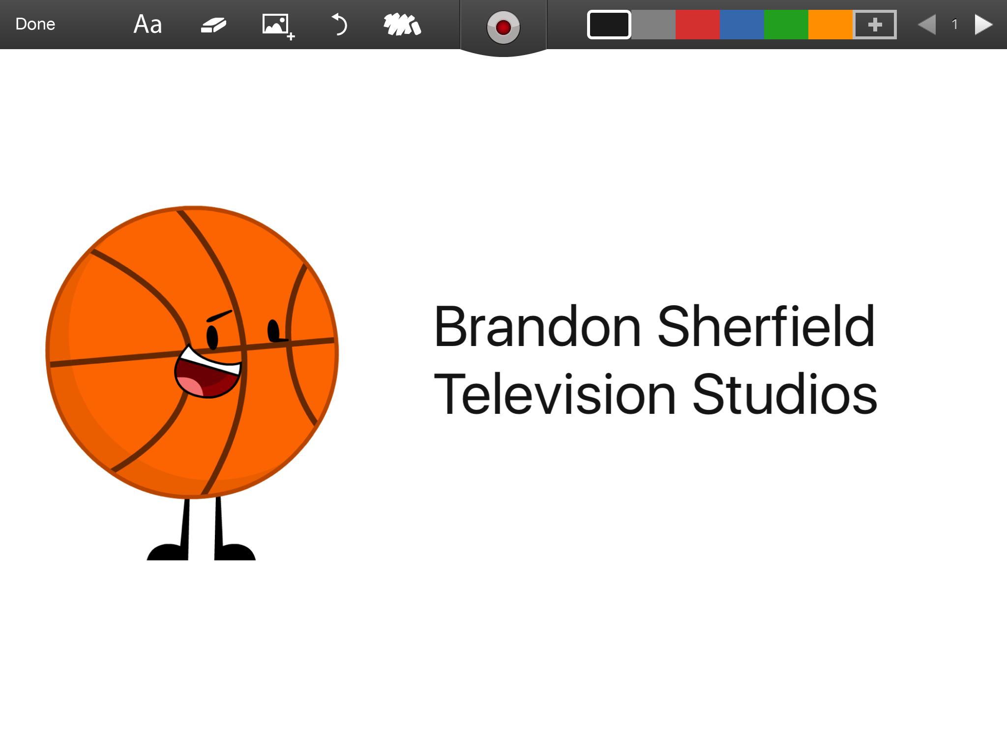 Brandon Sherfield Televison Studios