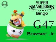 Bowser Jr SSBU Bingo