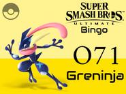 Greninja SSBU Bingo