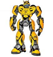 Bee Cybertronian Mode by Bumblebee-Prime on DeviantArt