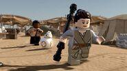 Rey in Lego form