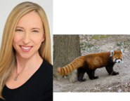 Alice Dinnean and Red Panda
