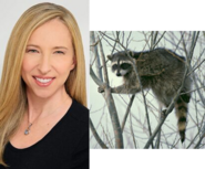 Alice Dinnean and Raccoon