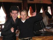 Me, Alice Dinnean, and a mechanical bull. -February 11th, 2004-