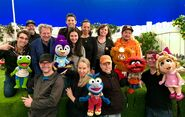 Muppet Babies play date puppeteers