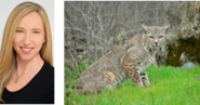 Alice Dinnean and Bobcat