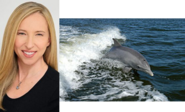 Alice Dinnean and Bottlenose Dolphin