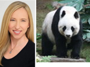 Alice Dinnean and Giant Panda