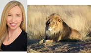 Alice Dinnean and Lion