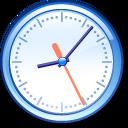 Crystal Clear app clock