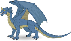 Monster Dragon YoungBlueDragon.png