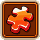 Orange Artifact Fragment
