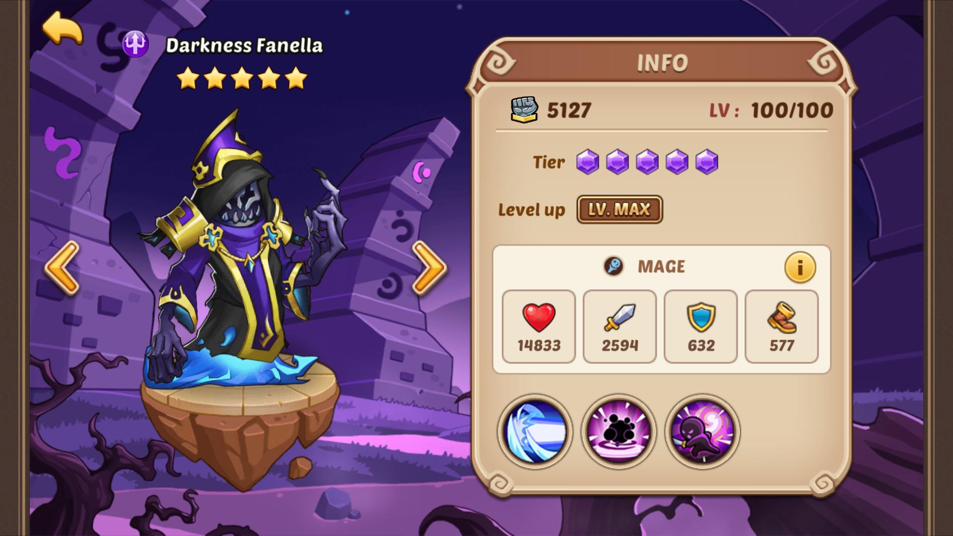 Darkness Fanella